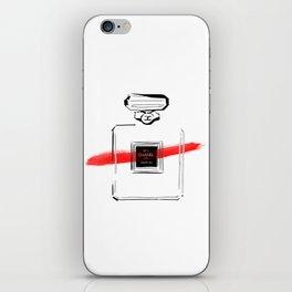 Red Perfume iPhone Skin