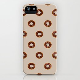 Chocolate Donuts iPhone Case
