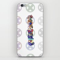 xmen iPhone & iPod Skins featuring xmen by thev clothing