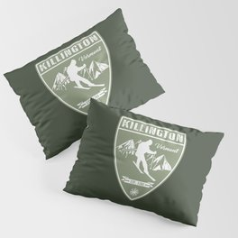 Ski Killington Vermont Pillow Sham