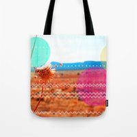 wind Tote Bags featuring Wind by Kakel-photography