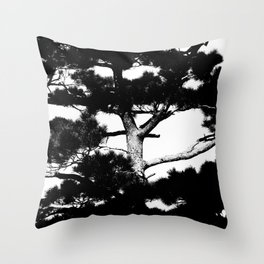 Kohama pine Throw Pillow
