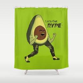 (R)Hype Avocado Shower Curtain