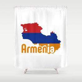 Armenia - Hayastan #society6 #decor #buyart #artprint Shower Curtain