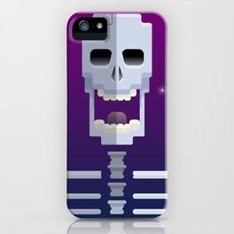 Cosmic Skull iPhone Case