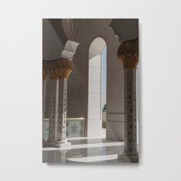 Sheikh Al Zayed mosque Abu Dhabi nº2 Metal Print