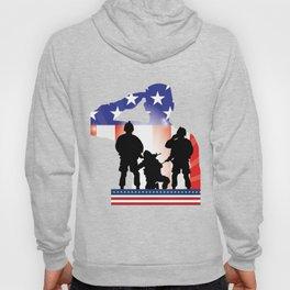 Soldier Patriotic American Flag Memorial Day Gift Hoody