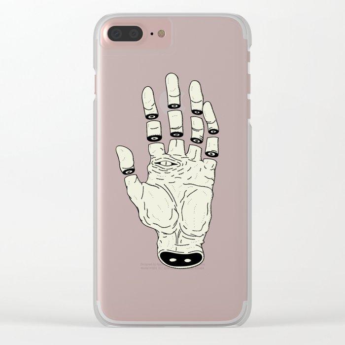 THE HAND OF DESTINY / LA MANO DEL DESTINO Clear iPhone Case