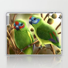 Double-eyed Fig Parrot Laptop & iPad Skin