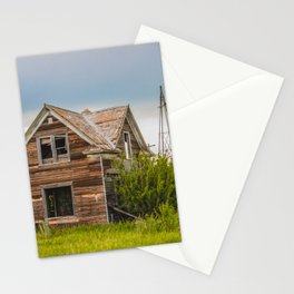 Roadside Homestead, North Dakota 3 Stationery Cards