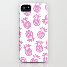 pink pineapple  iPhone (5, 5s) Slim Case