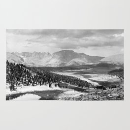 The Sierra Nevada: John Muir Wilderness, Sequoia National Park - California Rug