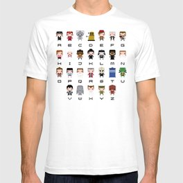 Doctor Who Alphabet T-shirt
