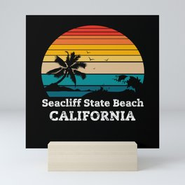 Seacliff State Beach CALIFORNIA Mini Art Print