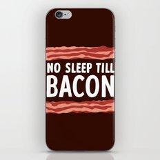 No Sleep Till Bacon iPhone & iPod Skin