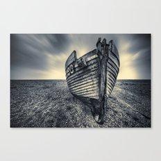 Broken Boat Canvas Print