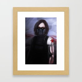 Jemma the sinter soldier.  Framed Art Print