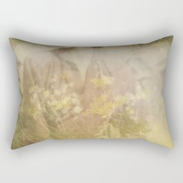 Vintage woman Rectangular Pillow