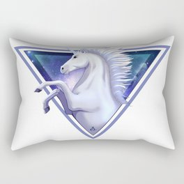 Light Unicorn Rectangular Pillow
