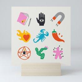 Scorpio Emoji Mini Art Print
