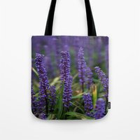 lavender Tote Bags featuring Lavender by Tracy66