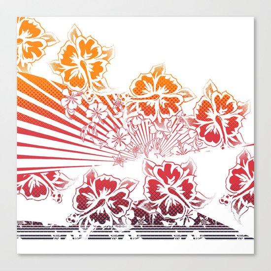 Hawaii Five-O Light Canvas Print