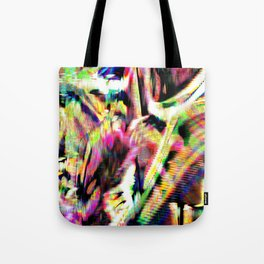 GLITCH3 - Donuts of the heart Tote Bag
