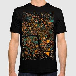 London Mosaic Map #4 T-shirt