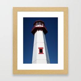 Wawatam Lighthouse Framed Art Print