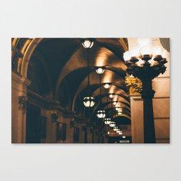 Recede Canvas Print