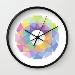 Fig. 036 Colorful Circle Wall Clock