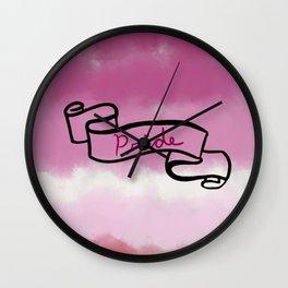 Lipstick Lesbian Pride Wall Clock