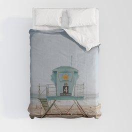 no lifeguard vi / santa cruz, california Comforters