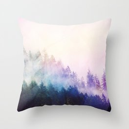 Haven's Path Throw Pillow