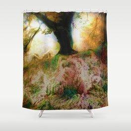 Maid in Britain (Tayside/Scotland) Shower Curtain