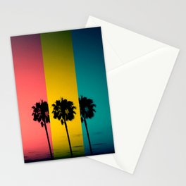 Vintage Palm Tree Stationery Cards