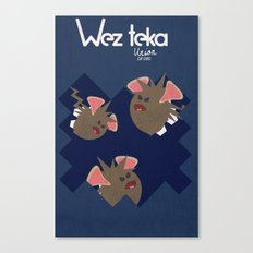 Midnight Attack! - Wezteka Union Canvas Print