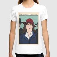 agent carter T-shirts featuring Agent Carter by saintsandstorms