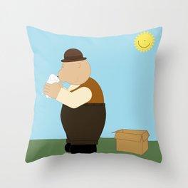 Good friend Throw Pillow