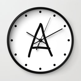 A LOVE Wall Clock