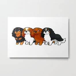 Cavalier Collection Metal Print