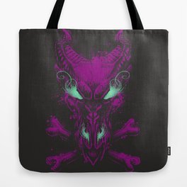 All the powers of Hell Tote Bag