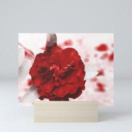 Rosa Sangue Mini Art Print