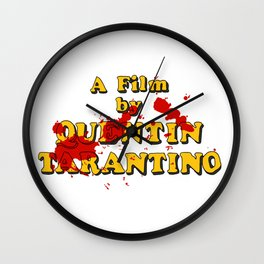 A Film By QT Wall Clock