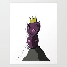 KINDERLAND 3 Art Print