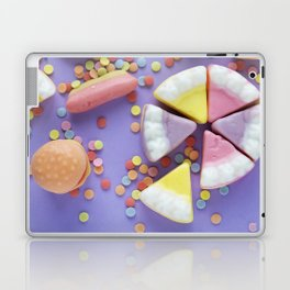 Purple Gummy Candy Laptop & iPad Skin