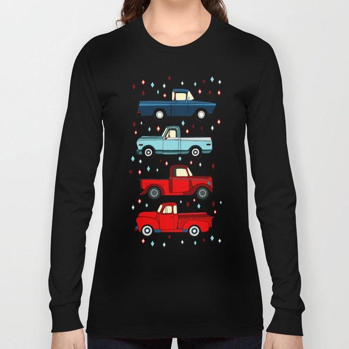 Winter Vintage Trucks Long Sleeve T-shirt