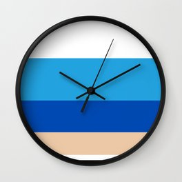 Finns color palette Wall Clock