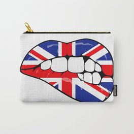 UK lips Carry-All Pouch