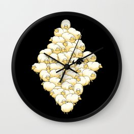 Find The Spy Wall Clock